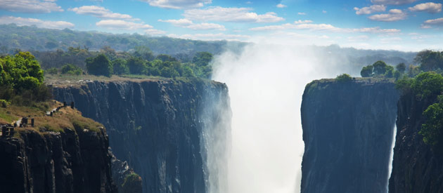Zambia, home of the great Victoria Falls